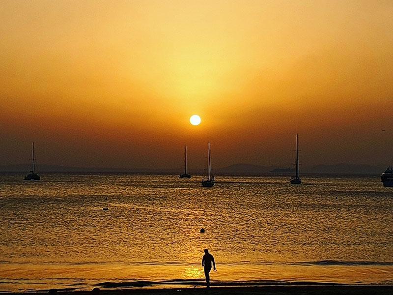 Sonnenuntergang September 2019 auf Mallorca