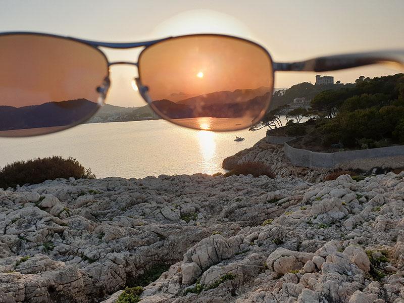 Sonnenuntergang in Cala Ratjada auf Mallorca