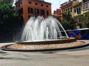 Springbrunnen in Palma Innenstadt