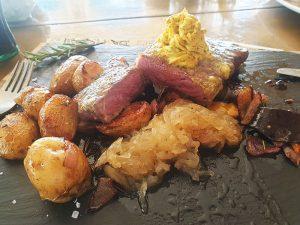 Steak im Cafe Träumeria Essen gehe in Cala Ratjada Tipps und Empfehlungen