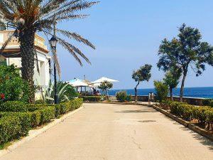 Strandpromenade vom San Moll zur Innenstadt