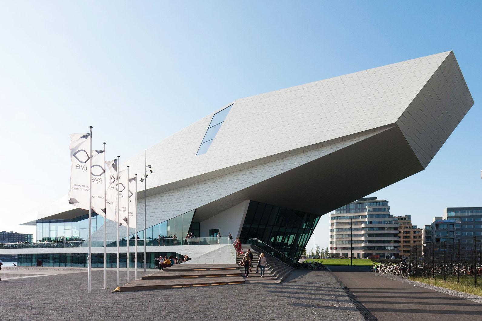 Eye Filmmuseum Ausflugsziel bei Städtereisen Amsterdam