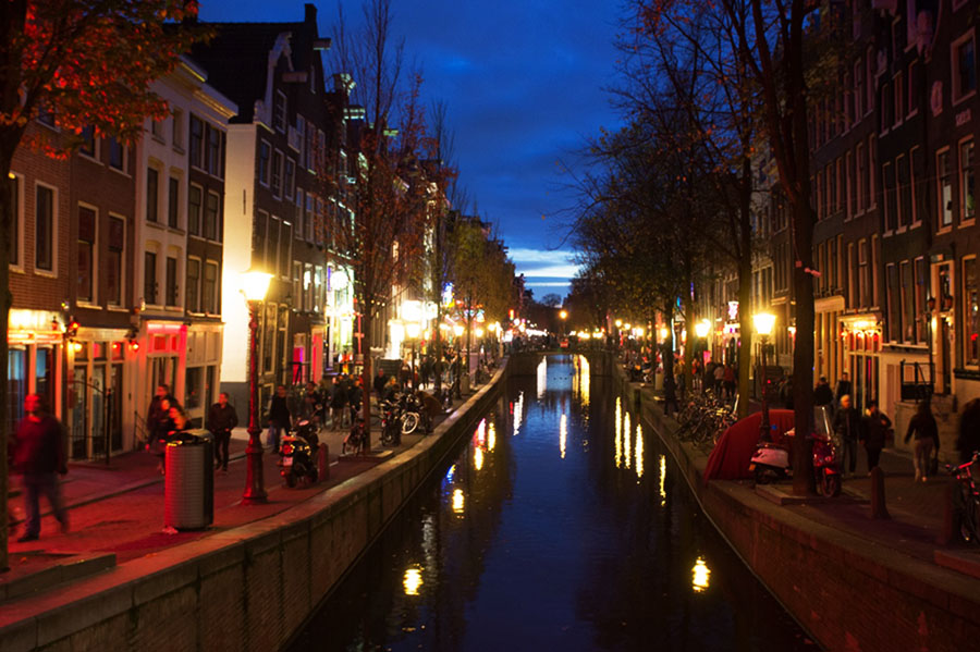Rotlichtviertel von Amsterdam