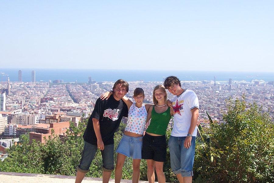 Abireisen Barcelona Ausflug Park Güell