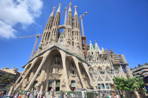 Ausflugziel Touristenhotspots in Barcelona Sagrada Familia