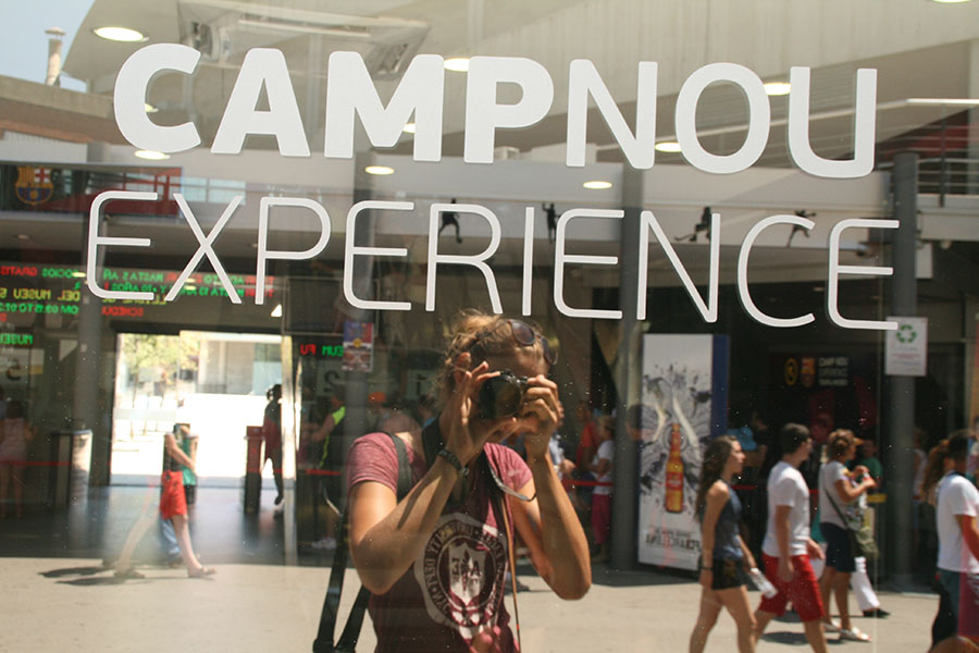 Jugendreisen Barcelona Tagesausflug zum Camp Nou