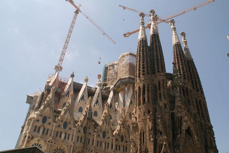 Klassenfahrten Barcelona Ausflugsziel Sagrada Familia