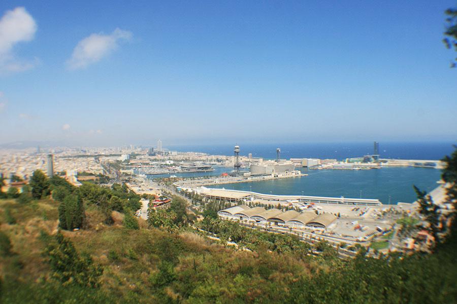 Klassenfahrten Barcelona Aussicht vom Park Güell