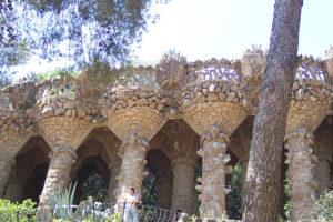 Sehenswürdigkeiten Barcelona Werke von Antoni Gaudi im Park Güell