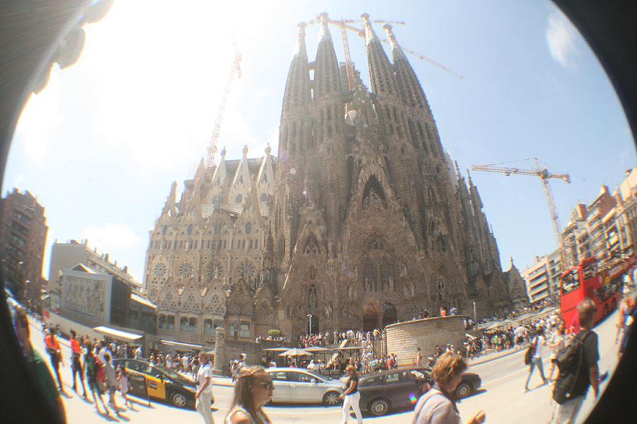 Städtereisen Sehenswürdigkeiten Sagrada Familia Barcelona