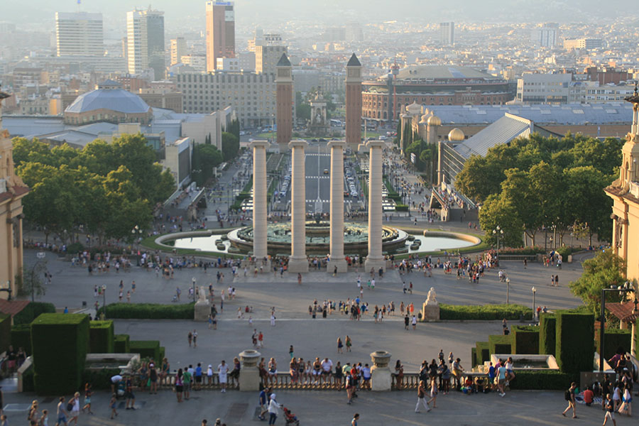Tagesausflug Tipps Städtreisen Barcelona hier Font Magica