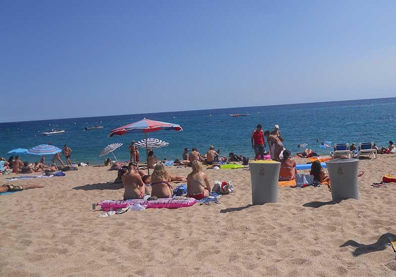 Hauptstrand Lloret de Mar Erfahrungen Partyurlaub Lloret de Mar Spanien