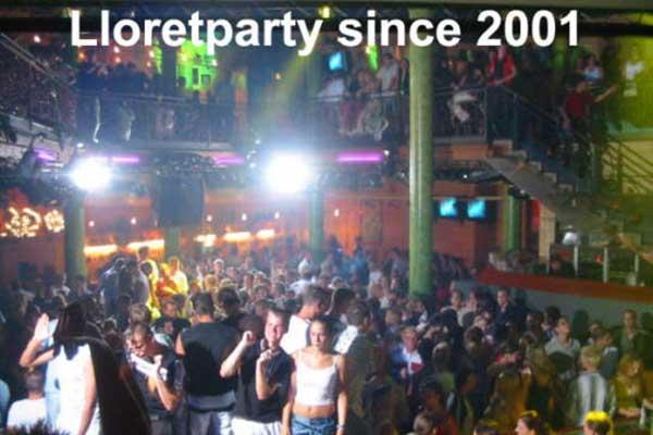 History Lloretparty - Bild aus dem St.Trop 2002
