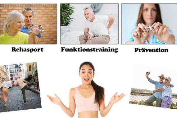 Informationen und Ziele von Rehasport Funktionstraining Präventionssport