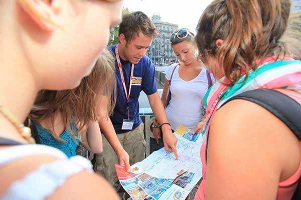 Job als Reiseleiter Guide bei Städtetrip nach Barcelona