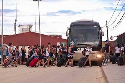 Jugendreisen FAQ Antworten zu Fragen Busfahrt Anreise und Dauer
