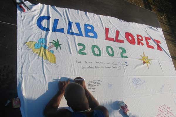 LLoretparty 2002 im Club Guitart History
