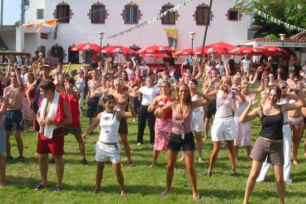 Lloretparty 2002 im Clubdorf