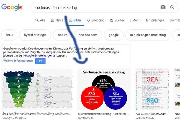 Lloretparty Google Top Bilder Platzierung zu Suchmaschinenmarketing
