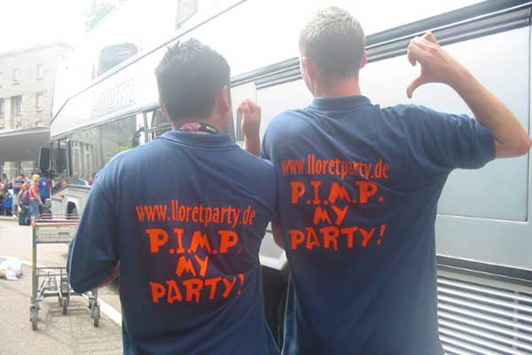 Lloretparty Shirts 2005