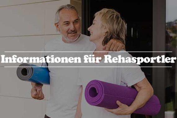 Rehasportler Informationen - Verordnung Teilnahme Kurse Zielgruppe Anbieterwechsel