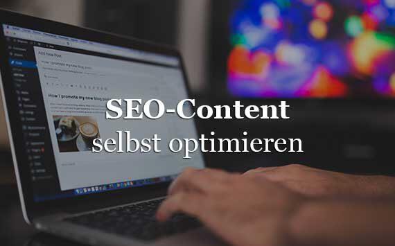 SEO-Content Marketing Tipps SEO selbst machen und optimieren