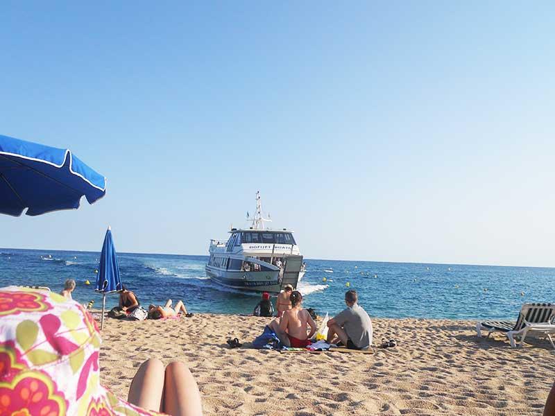 Strände Lloret de Mar Fenals Strand
