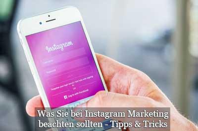 Tipps und Grundlagen zu Instagram Marketing