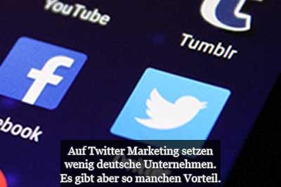 Twitter Marketing - Tipps Strategie Gründe und Vorteile