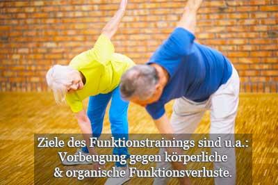 Ziele und Teilnahme am Funktionstraining hier Sportübung