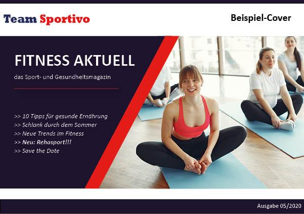 Beispiel Cover Heft - Marketing Rehasport und Gesundheit