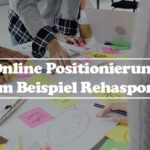 Online Positionierung Defintion und Strategie am Beispiel Rehasport