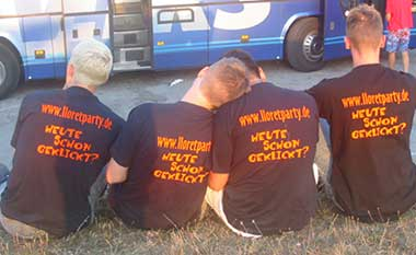 Team Lloretparty Informationen seit 2001