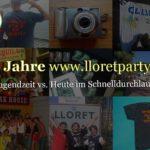 Jubiläum 20 Jahre Lloretparty - Rückblick und Spendenaktion für guten Zweck