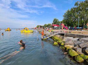 Baden im Balaton in Siofok Urlaub 2021